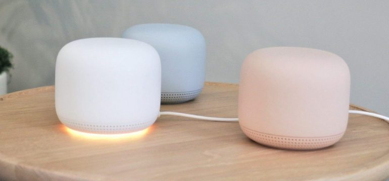 Google just announced Nest WiFi system that doubles as a smart speaker