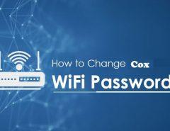 Change WiFi Password Cox