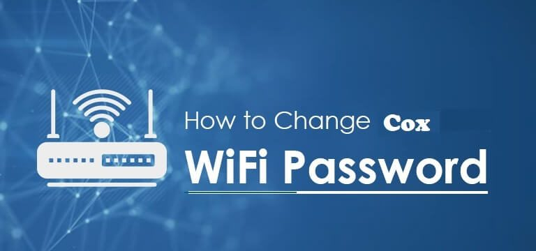Change WiFi Password Cox